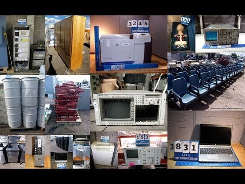 729 Government, Corporate & Others 2 Day Surplus Auction Lot #'s 1 1,361