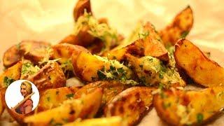 ЛУЧШИЙ РЕЦЕПТ!!! Картошка по ДЕРЕВЕНСКИ в духовке (картофель запеченный) Готовить просто с Люсьеной