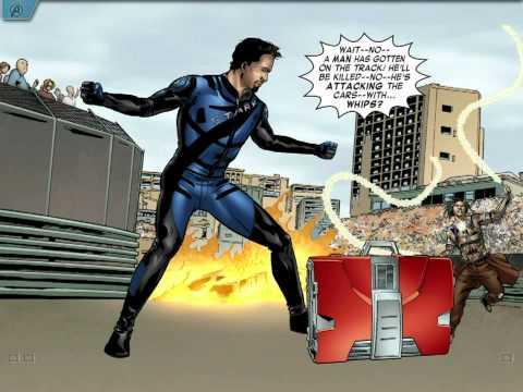 Marvel's The Avengers Iron Man Mark VII Comic.mp4