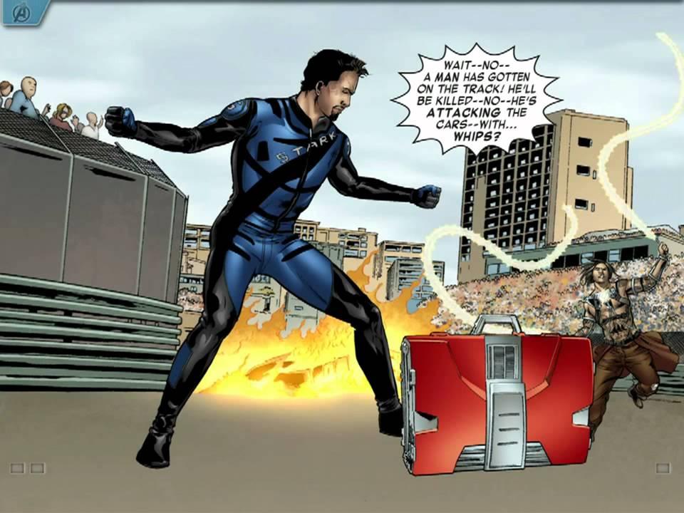 the avengers iron man mark vii app walkthrough