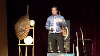 Stepping out of your comfort zone | Stuart Ramsey | TEDxYouth@NIS