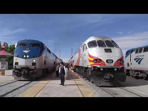 Amtrak #3, #4 and RailRunner
