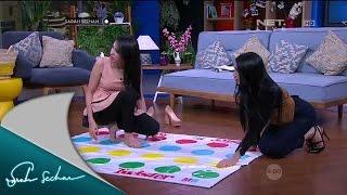 Angel Karamoy dan Kezia Karamoy Ditantang Bermain Twister