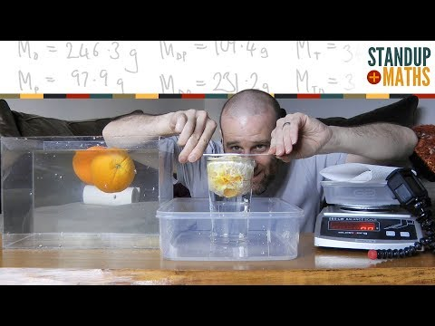 Why Do Whole Oranges Float, But Peeled Oranges Sink?