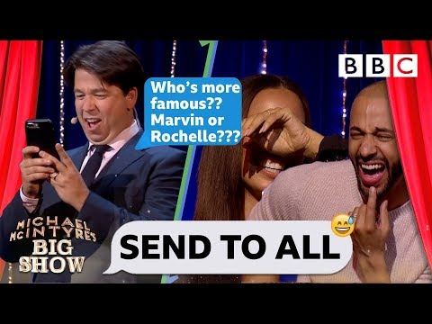 Send To All with Marvin and Rochelle Humes - Michael McIntyre's Big Show: Episode 4 - BBC One