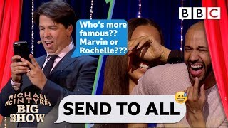 Download Send To All with Marvin and Rochelle Humes - Michael McIntyre's Big Show: Episode 4 - BBC One Mp3 and Videos