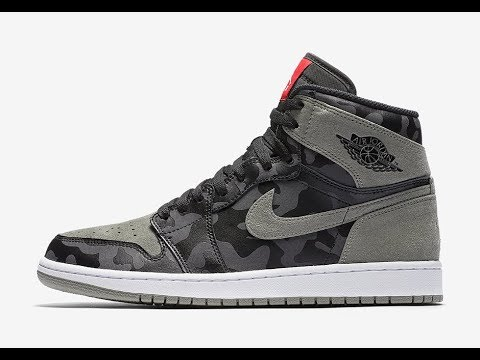 "The Air Jordan 1 High ""Shadow Camo"" (Dope or Nope) Iphone 7 + - YouTube c010e0bbe"
