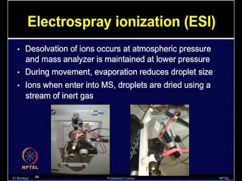 Mod-22 Lec-22 Liquid chromatography-Mass spectrometry (LC-MS/MS)