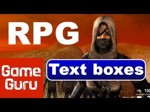 Game Guru: RPG text boxes tutorial