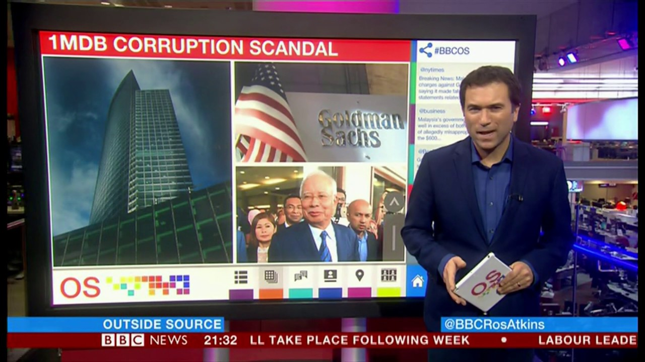 1MDB scandal extends (Malaysia/USA) - BBC News - 17th December 2018