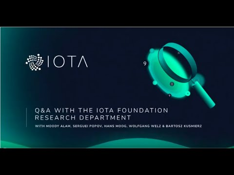 IOTA Research Summit Q&A, 2.2019  (full video)