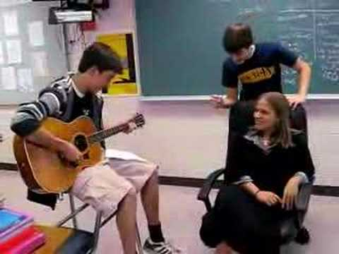 One semester of Spanish love song Kings High School