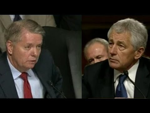 Lindsey Graham Questions Chuck Hagel at the Senate Confirmation Hearing - January 31, 2013