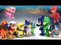 Paw Patrol Mighty Pups VS PJ Masks : Who's Better? || Playtime with Keith's Toy Box