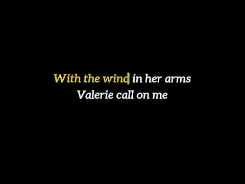Steve Winwood - Valerie [KARAOKE + LYRICS] Piano version