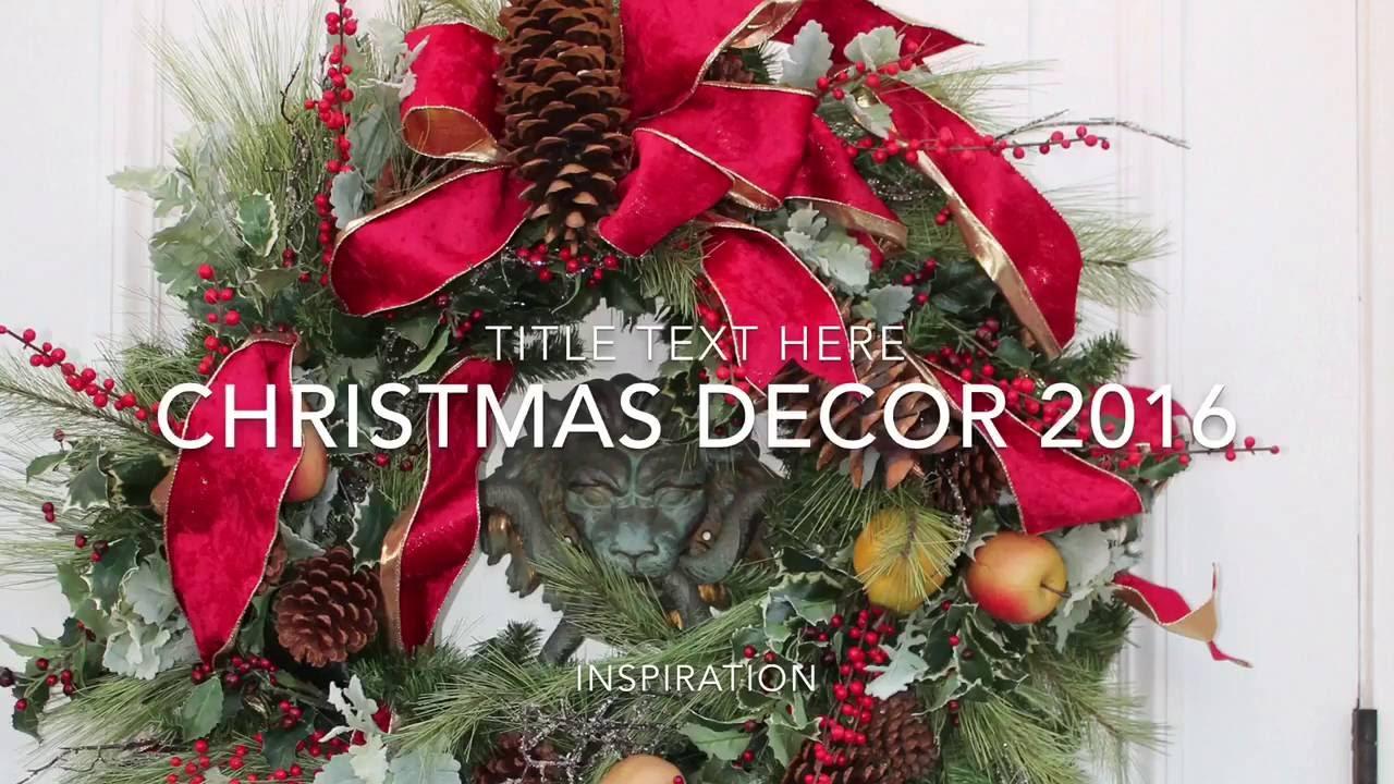 2018 christmas decor ideas rebecca robeson christmas decor inspired update - Robeson Design Christmas