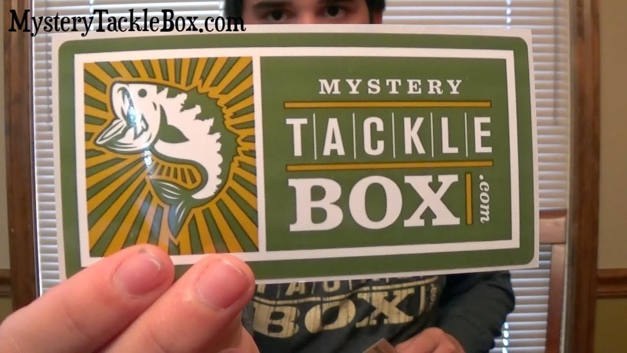 Mystery tackle box coupon code 2018