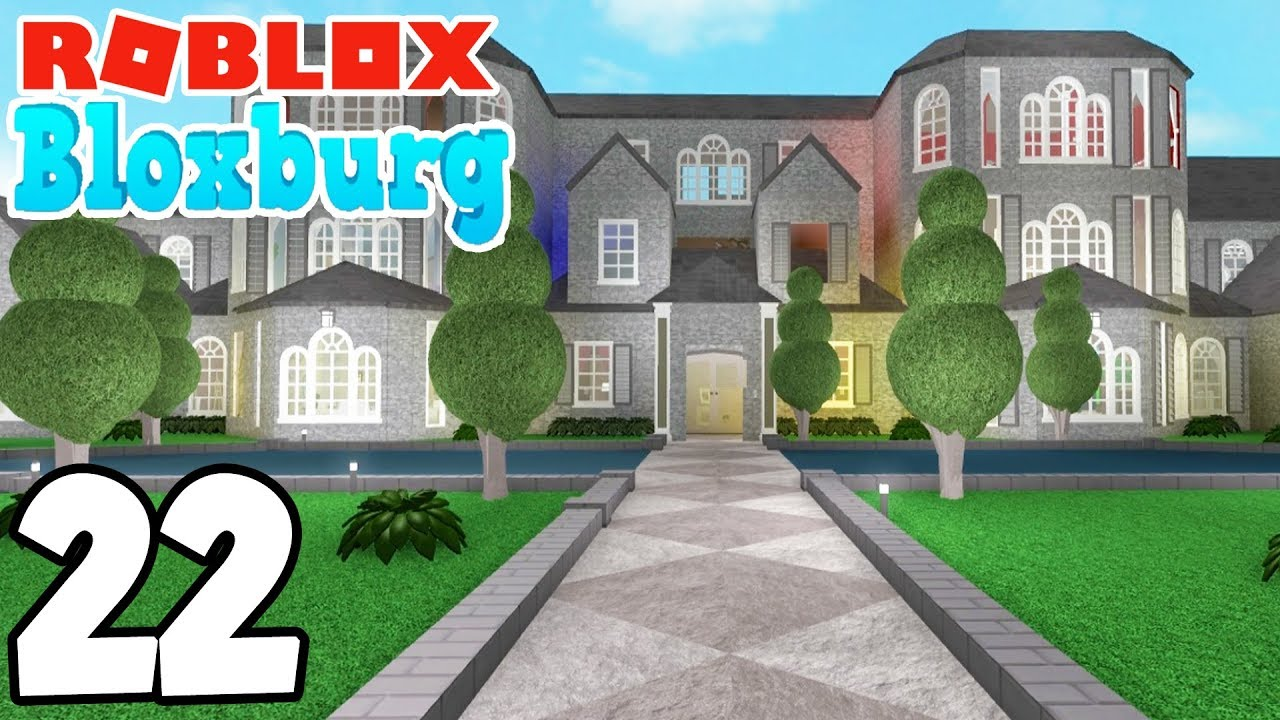 the mega mansions roblox bloxburg ep 22 youtube