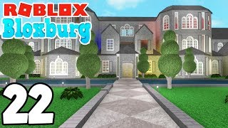THE MEGA MANSIONS! | Roblox BLOXBURG | Ep.22