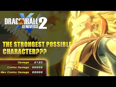 Strongest possible character in xenoverse 2??? (Well this is op)