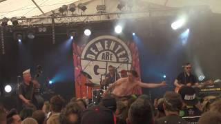 Demented Are Go - Heads On Poles (Zikenstock Festival 2016 France, Cateau-Cambrésis) [HD]