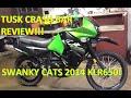 2014 Kawasaki KLR650 Tusk Crash Bar Review!