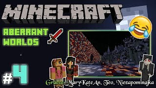 """MINECRAFT Escape: Aberrant Worlds z MaryKateAn i Teo! [4/4] - """"Bagna i mroczny mag"""""""