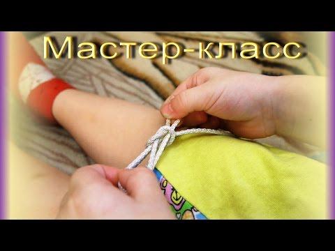 Как научить ребенка завязывать шапку