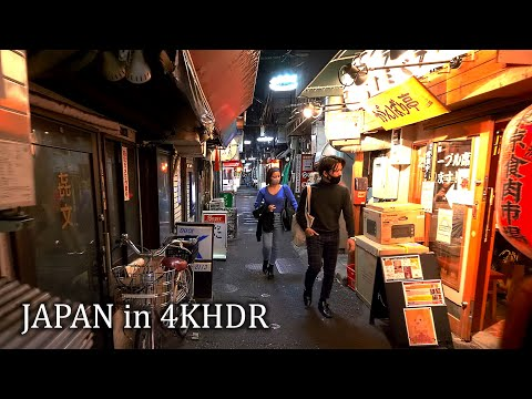 【4KHDR】Tokyo Oimachi with