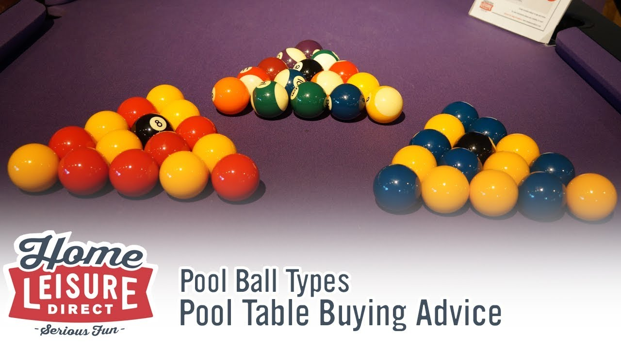 Merveilleux What Are The Differences Between Certain Pool And Snooker Balls?