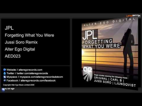 JPL - Forgetting What You Were (Jussi Soro Remix)