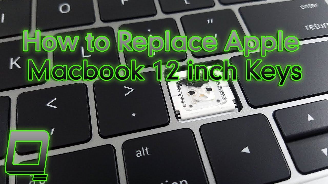 how to replace macbook keyboard keys