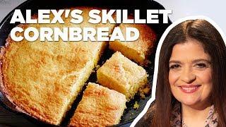 Alex Guarnaschelli Makes Cast Iron Skillet Cornbread  Food Network