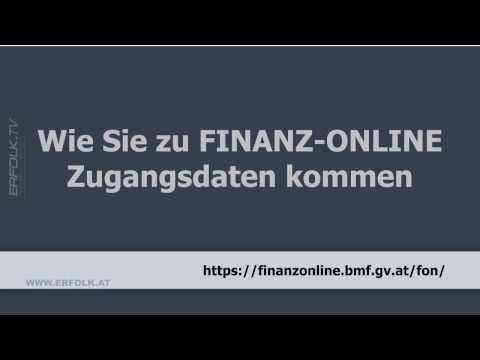 Finanzonline Zugang