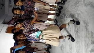 little school girl dance video
