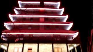 The Pagoda @ night - Reading, Pennsylvania. [720p]