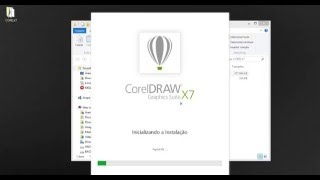 INSTALAÇÃO CORELDRAW X7 COMPLETA