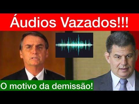 URGENTE! Os ÁUDIOS vazados entre BOLSONARO e BEBIANNO!!! O real motivo da demissão de Bebianno.