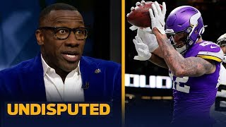 Kyle Rudolph should've been called for pass interference on final play — Shannon | NFL | UNDISPUTED