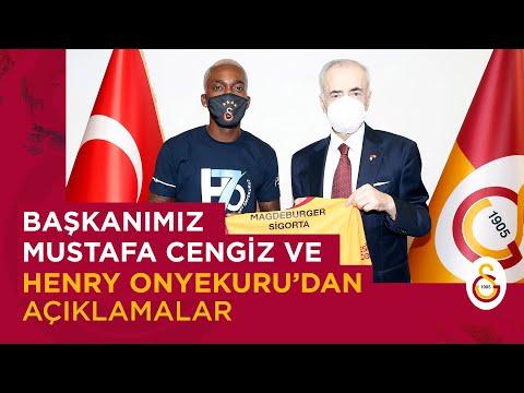 📺 Başkanımız Mustafa Cengiz ve Henry Onyekuru'dan açıklamalar