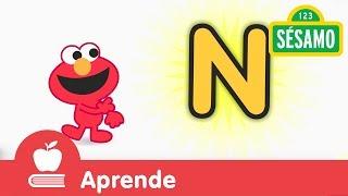 Sésamo: Elmo y la letra N