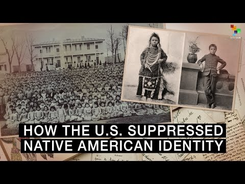 How The US Suppressed Native American Identity