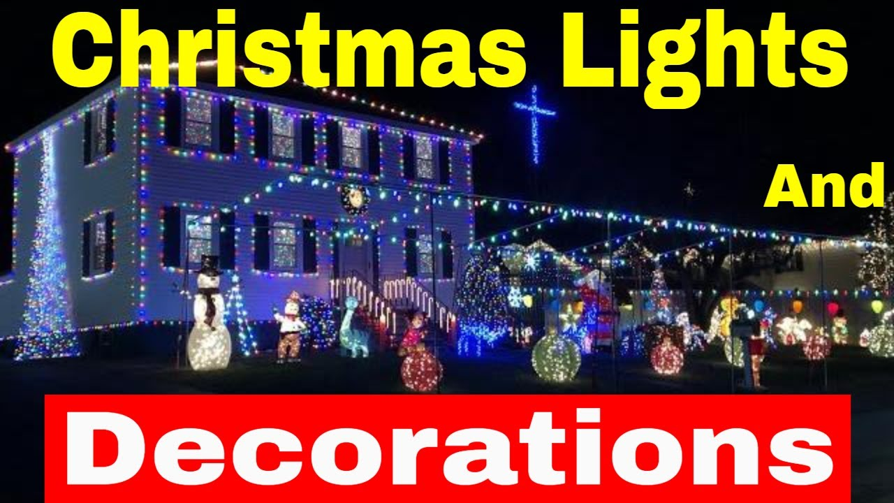 outdoor christmas decorations 2017