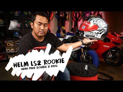 Helm Double D Ring Murah!!! LS2 rookie