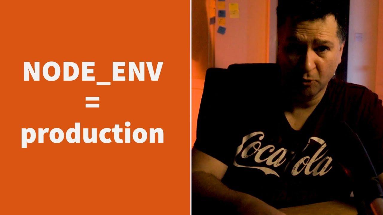 Why You Should Always Set NODE_ENV in Your Production Node.js Docker Images