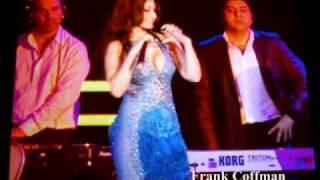 "Haifa Wehbe sings ""Ana Haifa"" in Las Vegas in 2010 هيفاء وهبي - انا هيفاء"