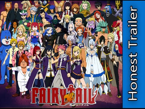 Fairy Tail The Honest Trailer