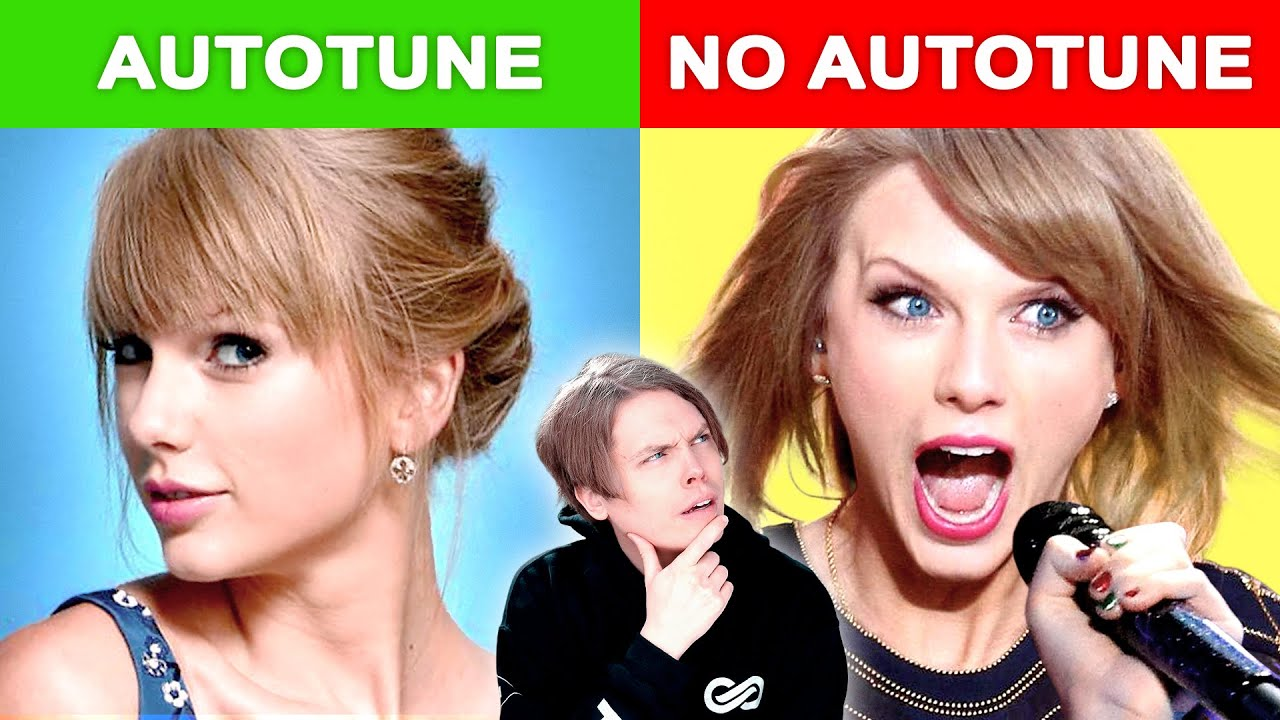 Autotune Vs No Autotune Taylor Swift Maroon 5 More Youtube