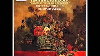 Musica Antiqua Köln, Bach, Largo BWV 1018