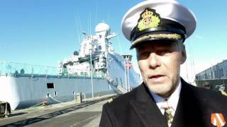 Navngivning af Søværnets tredje inspektionsfartøj - LAUGE KOCH